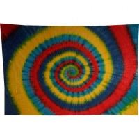 Tenture hypnotika bleus/jaune/rouge/vert