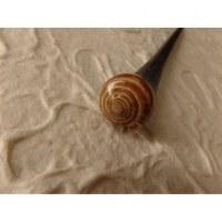 Baguette pic cheveux coquillage escargot