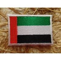 Ecusson drapeau Emirats Arabes unis