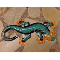 Gecko turquoise/orange