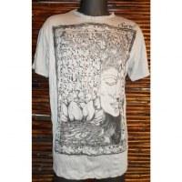Tee shirt Sure gris Bouddha arbre