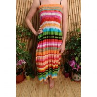 Jupe/robe multicolore