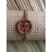 Bracelet dreamcatcher marron clair