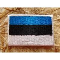Ecusson drapeau Estonie