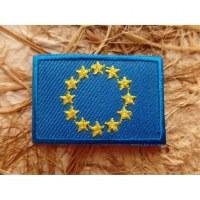 Ecusson drapeau Europe