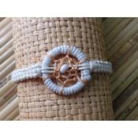 Bracelet dreamcatcher blanc
