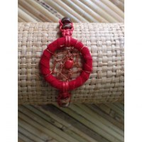 Bracelet rouge dreamcatcher