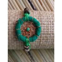 Bracelet vert dreamcatcher