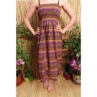 Jupe/robe cachemire violette