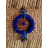 Bracelet bleu roi dreamcatcher