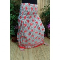 Jupe/robe éléphants rouges