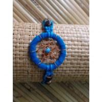 Bracelet bleu dreamcatcher