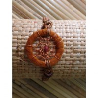 Bracelet marron dreamcatcher