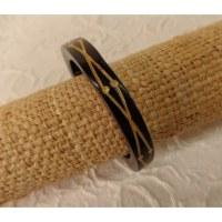 Bracelet bois entrelacs