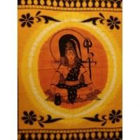 Maxi tenture bandhani Shiva