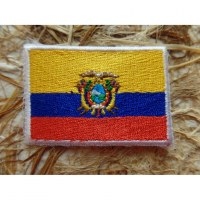 Ecusson drapeau Equateur