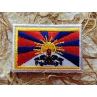 Ecusson drapeau Tibet