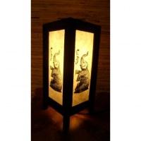 Lampe éléphanteau