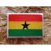 Ecusson drapeau Ghana