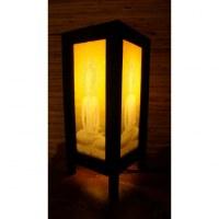Lampe la méditation de Bouddha