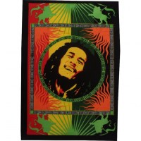Petite tenture peinte Bob Marley