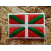 Ecusson drapeau Basque