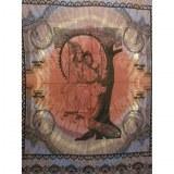 Maxi tenture Shiva et Parvati sur une balançoire