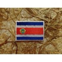 Ecusson drapeau Costa Rica