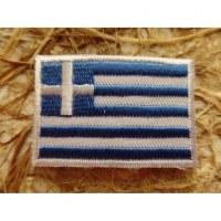 Ecusson drapeau Grèce