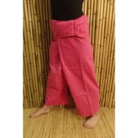 Pantalon de pêcheur Thaï fuschia