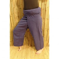 Pantalon de pêcheur Thaï cobalt