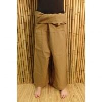 Pantalon de pêcheur Thaï fauve