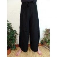 Pantalon paréo noir