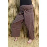 Pantalon de pêcheur Thaï brun
