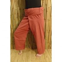Pantalon de pêcheur Thaï cinabre