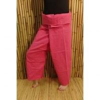Pantalon de pêcheur Thaï rose bonbon