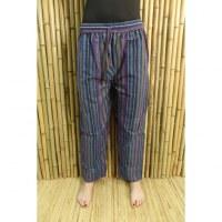 Pantalon Koshi bleu/mauve