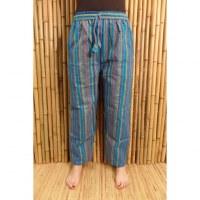 Pantalon Koshi bleu/vert