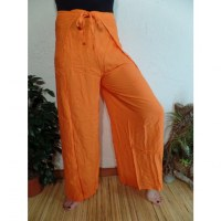 Pantalon paréo orange