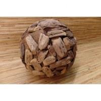 Boule en bois flotté 1