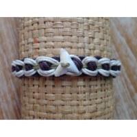 Bracelet macramé hiu gigi 8