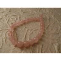 Mala de poignet quartz rose