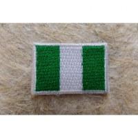 Mini écusson drapeau Nigéria