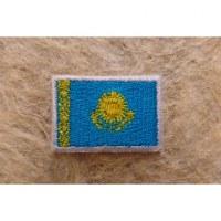 Mini écusson drapeau Kazakhstan
