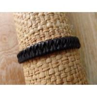 Bracelet cuir kecil noir