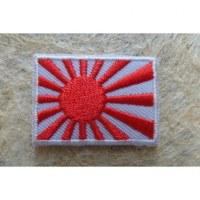 Mini écusson drapeau Japon