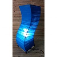 Lampe wave bleu