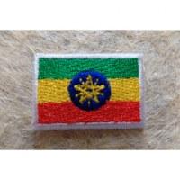 Mini écusson drapeau Ethiopie