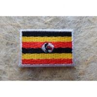 Mini écusson drapeau Ouganda