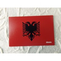 Aimant drapeau Albanie